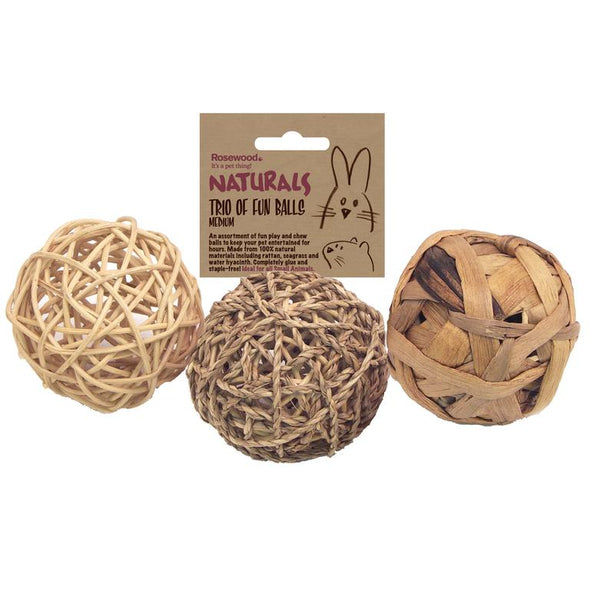 Rosewood - Trio Of Fun Balls Medium