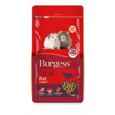 Burgess Excel Rat Nuggets 1,5kg