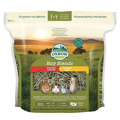 Oxbow Hay Blends (Western Timothy + Orchard grass) 1.13kg e 2.5kg