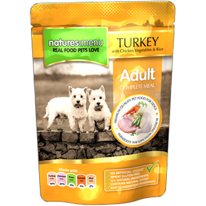 Natures Menu Turkey with Chicken 300gr