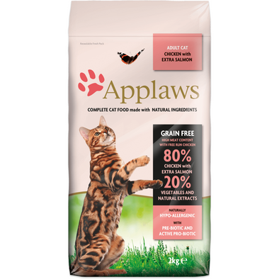 Applaws Adult Cat Chicken w/ Salmon (2kg e 7.5kg)
