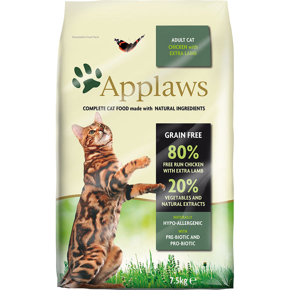 Applaws Adult Cat Chicken w/ Lamb 2kg