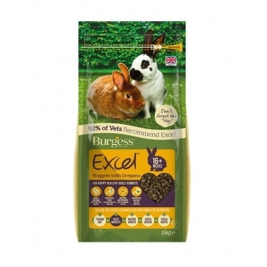 Burgess Excel Adult Rabbit Oregãos 2kg