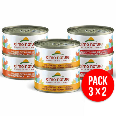"""ALMO NATURE"" HFC CAT MULTI PACK - SORTIDO NATURAL (6 LATAS)"