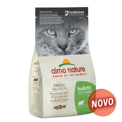 """ALMO NATURE"" CAT HOLISTIC ANTI-HAIRBALL - SALMÃO"