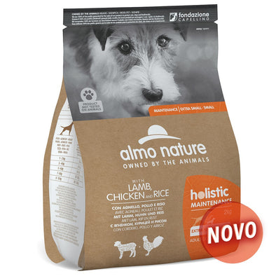 """ALMO NATURE"" DOG HOLISTIC - CORDEIRO, FRANGO, ARROZ"