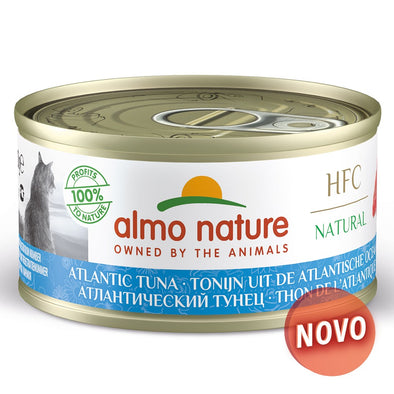 """ALMO NATURE"" HFC CAT NATURAL - ATUM ATLÂNTICO (6 LATAS)"
