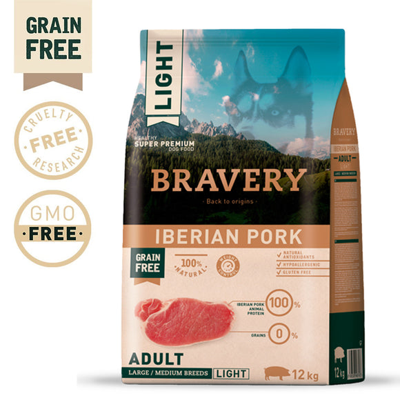 BRAVERY IBERIAN PORK ADULT MEDIUM-LARGE