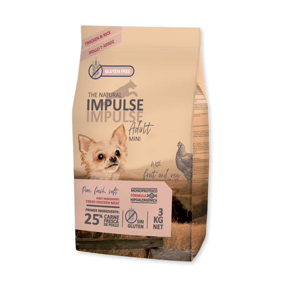 The Natural Impulse Adult Mini (3kg e 12kg)