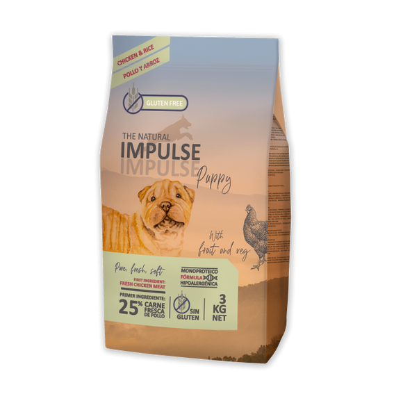 The Natural Impulse Puppy (3kg e 12kg)