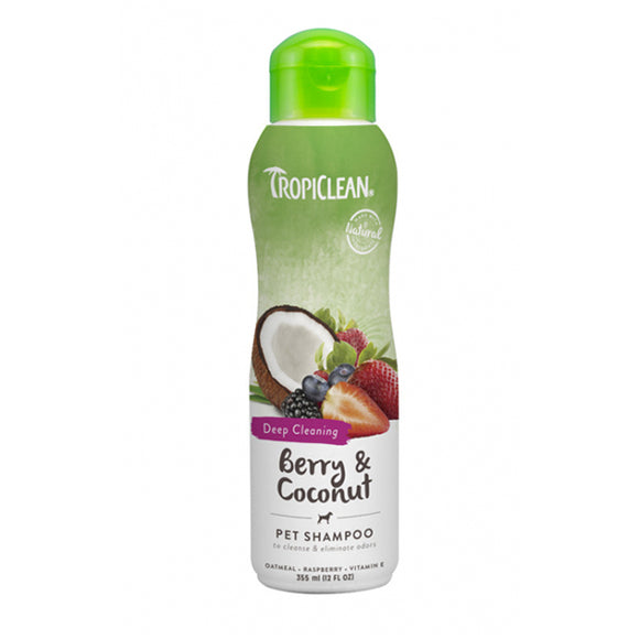 Tropiclean Berry & Coconut Pet Shampoo 355ml
