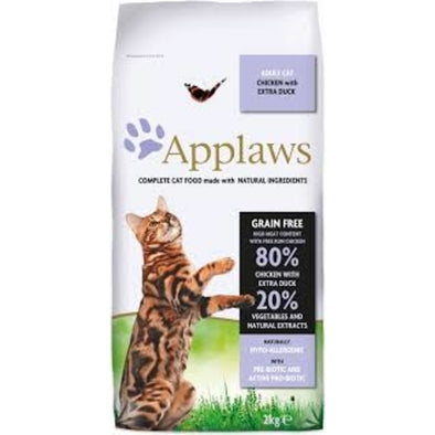 Applaws Adult Cat Chicken w/ Duck (2kg e 7.5kg)