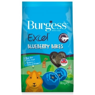 EXCEL SNACK BLUEBERRY BAKES 80g