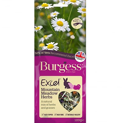 Burgess Excel Mountain Herbs 120gr