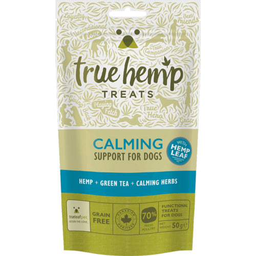 True Hemp Calming Dog Treats 50g