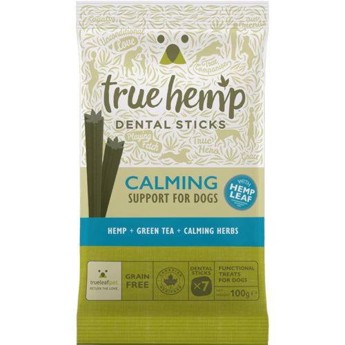 True Hemp Calming Dental Sticks 100gr