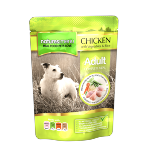 Natures Menu Chicken with Vegetables and Rice 300gr