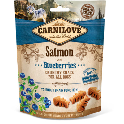 Carnilove Dog Crunchy Snack Salmon with Blueberries  200 g