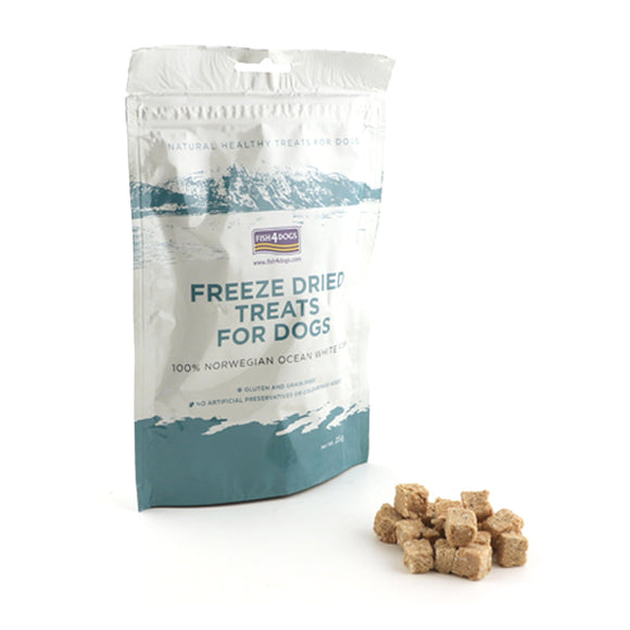 Fish4Dogs Freeze Dried Treats For Dogs 25 gr