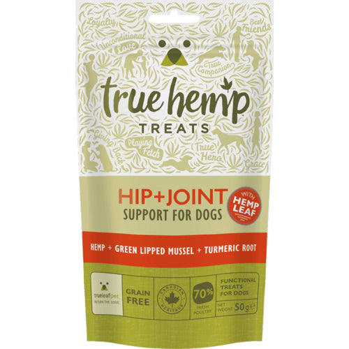 True Hemp Hip + Joint DogTreats 50g