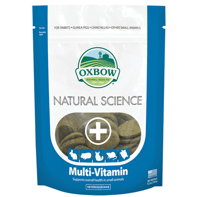 Oxbow Natural Science Multi-vitaminas 120gr