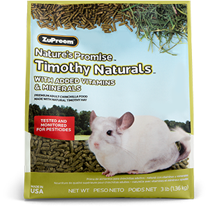 Zupreem Natures Promise Timothy Natural Chinchila 1.36kg