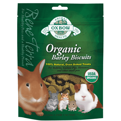 Oxbow Organic Barley Biscuits 75gr