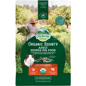 Oxbow Organic Bounty Adult Guinea Pig Food 1.36kg