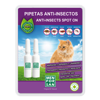 Men For San Pipetas Repelentes para Gato 2 unidades