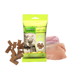Natures Menu Treats with Chicken and Turkey for Cat 60g