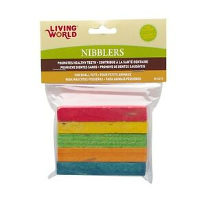 Living World Nibblers Paus coloridos