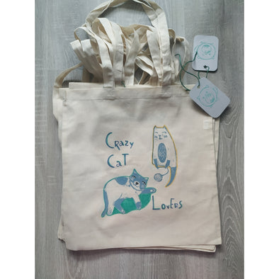 Tote Bag Gatos