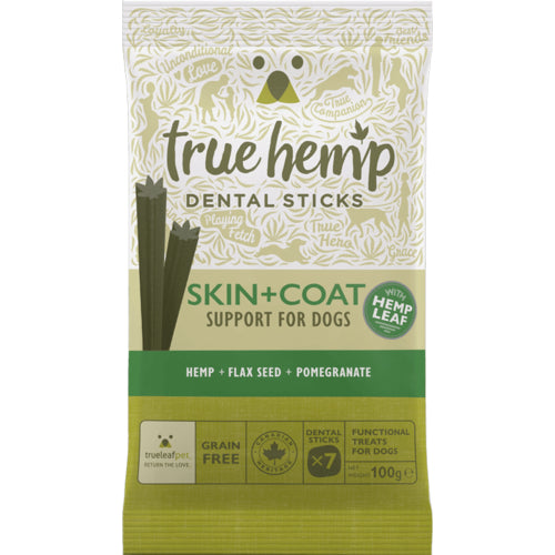 True Hemp Skin + Coat Dental Sticks 100gr