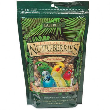 Nutri-Berries Tropical Fruit (Caturras e aves médias) 284g