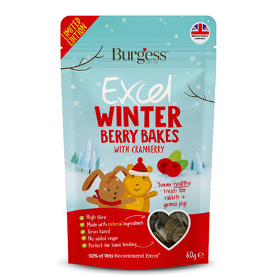 Burgess Winter Berry Bakes 60g