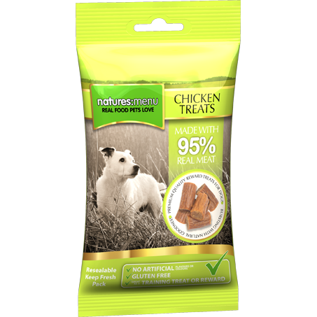 Natures Menu Treats Chicken for Dog 60gr