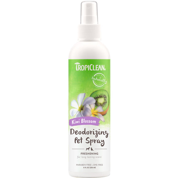 Tropiclean Desodorizante Kiwi Blossom Pet Spray 236ml