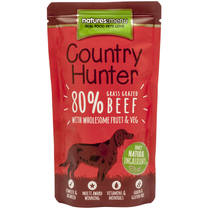 Natures Menu Coutry Hunter Beef 150g
