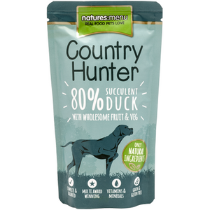 Natures Menu Coutry Hunter Duck 150g
