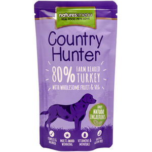 Natures Menu Coutry hunter Turkey 150g