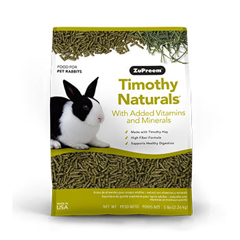 Zupreem Natures Promise Timothy Naturals Coelho 2.26kg