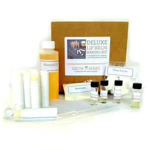 Exotic DIY Lip Balm Making Kit with Tubes - Learn how to make home made chapstick