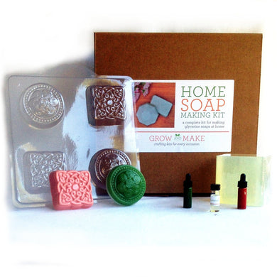 Deluxe DIY Olive Oil Soap Making Kit - Learn how to make home made soaps