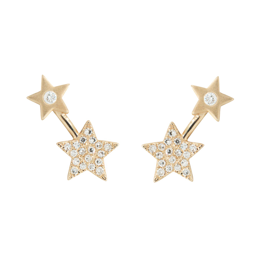 Double Star Diamond Studs
