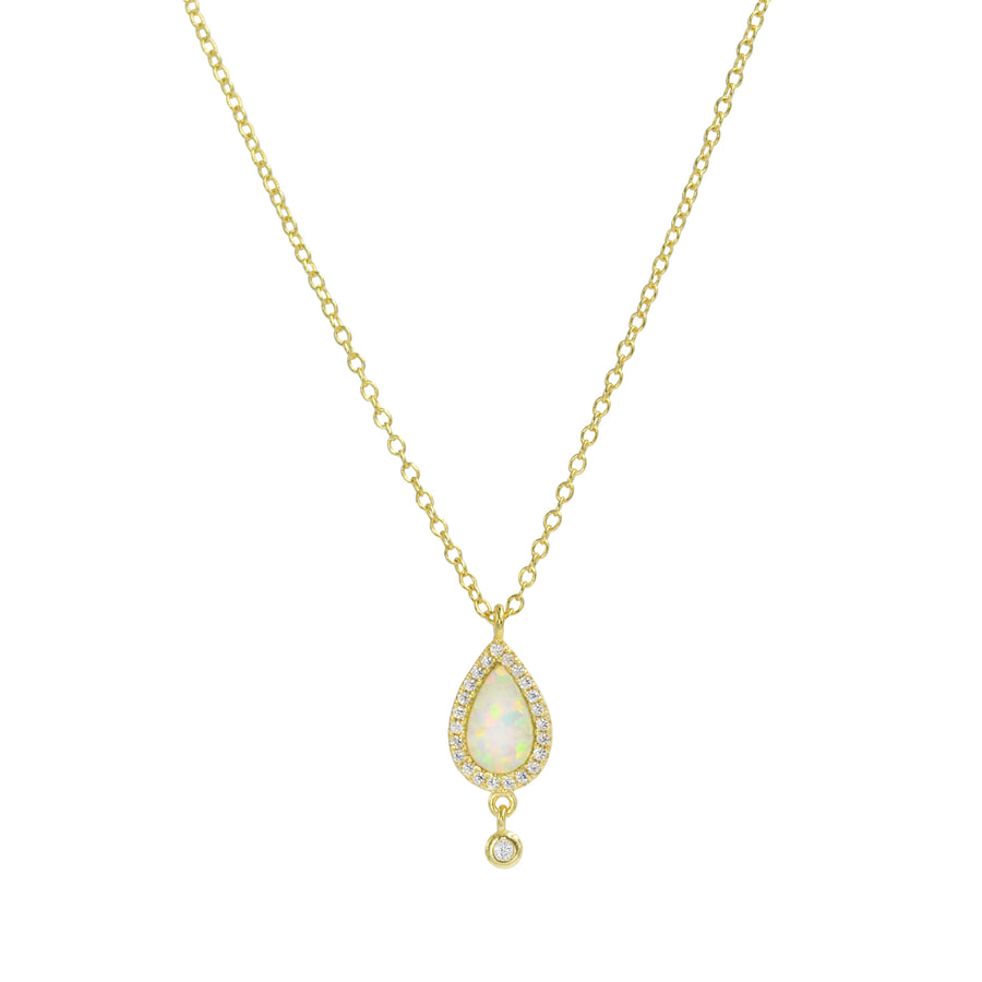 Mini Pear Opal Necklace