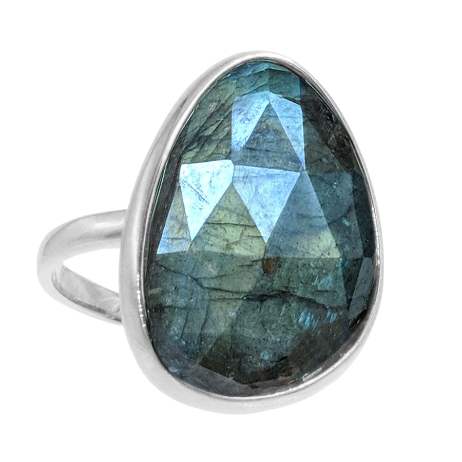 Labradorite Gemstone Ring
