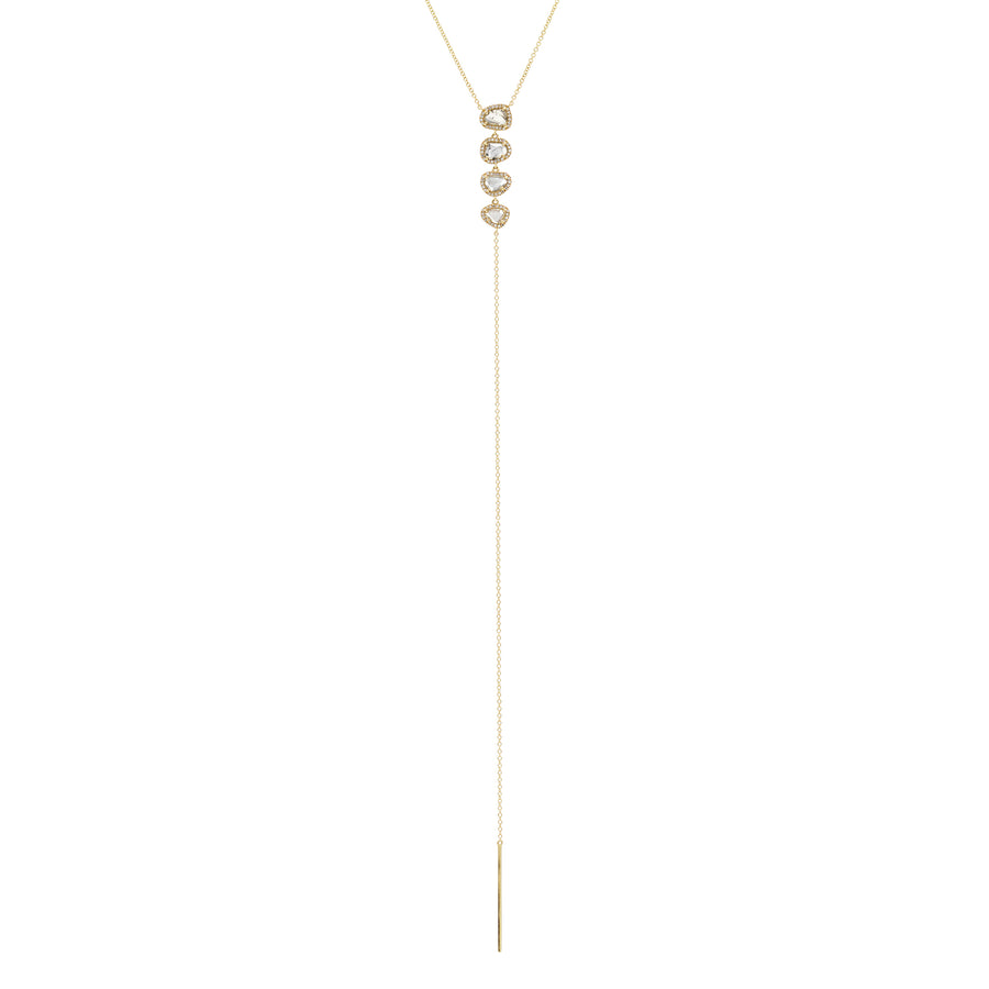 Quad Diamond Slice Lariat