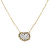 Diamond Slice Necklace - Yellow