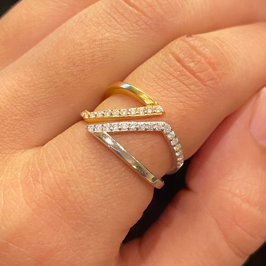 Two-Toned Ring
