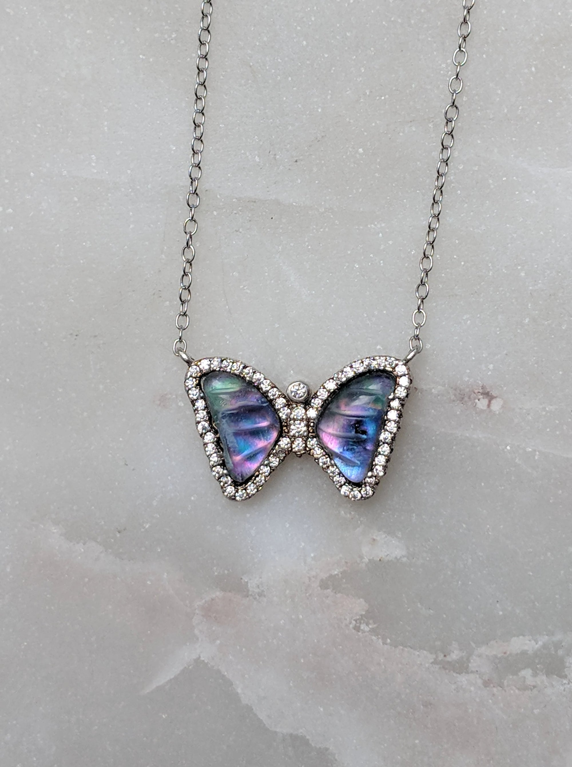 Limited Edition Mother of Pearl Butterfly